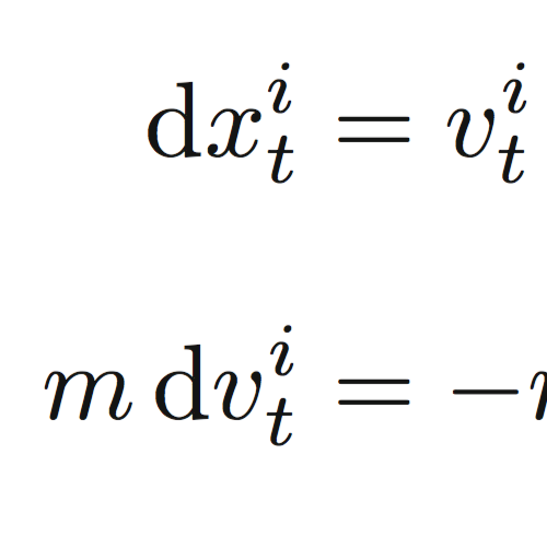 Langevin Equation on a Manifold published in Ann. Henri Poincaré