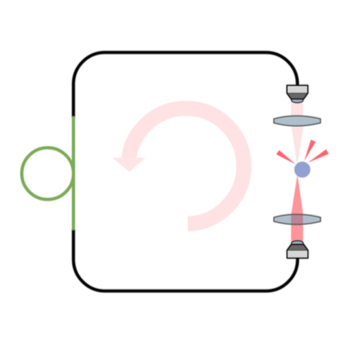 Intracavity Optical Trapping preprint on ArXiv