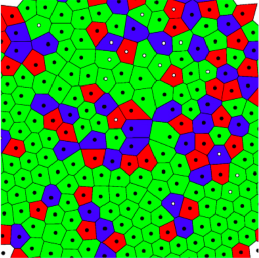 Ordering of binary colloidal crystals by random potentials on ArXiv