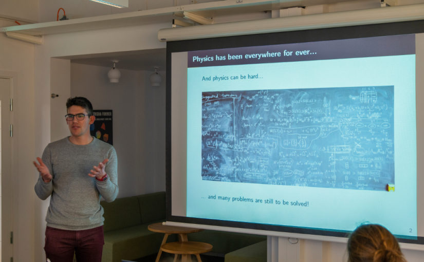 Seminar on Machine Learning and Physics: a long standing relation? by Gorka Muñoz-Gil from ICFO, Nexus, 3 March 2020