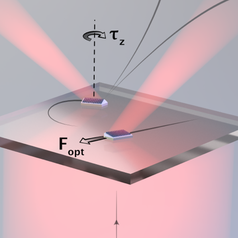 Microscopic Metavehicles Powered and Steered by Embedded Optical Metasurfaces on ArXiv
